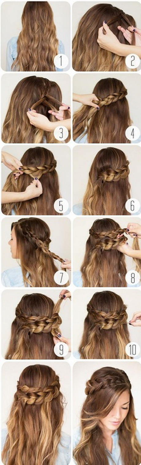 Innovative Pretty Simple Hairstyles For School  Wwwpixsharkcom  Images