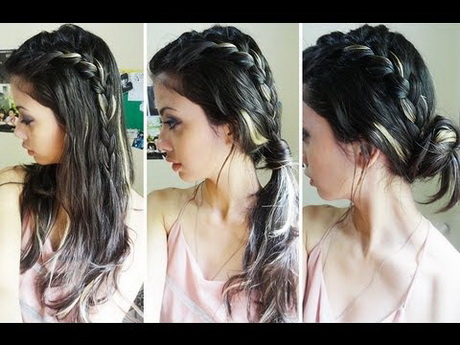 Hair messy bun this is a easy messy bun updo tutorial with human hair