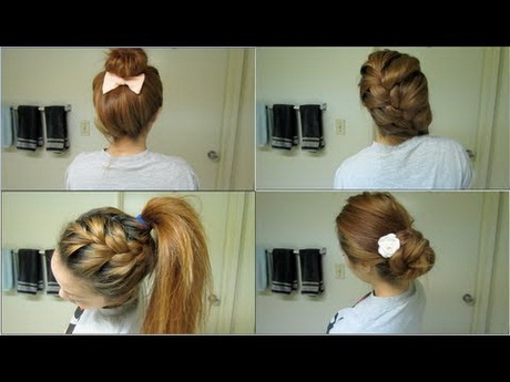 Simple 27 Easy Five Minutes Hairstyles Tutorials  Pretty Designs