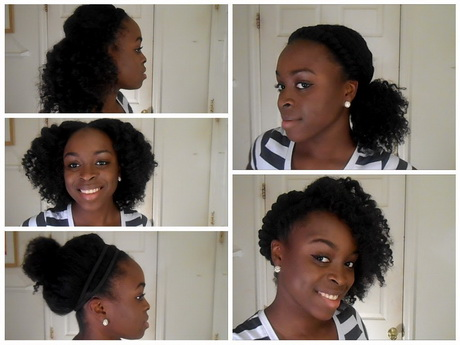 5 hairstyles for natural hair