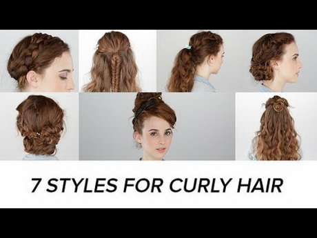 7 easy hairstyles