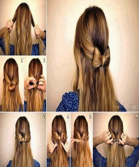 HD wallpapers cute simple hairstyles for long wavy hair