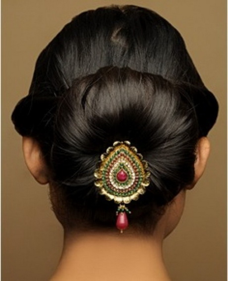 South indian bridal hairstyles for medium hair