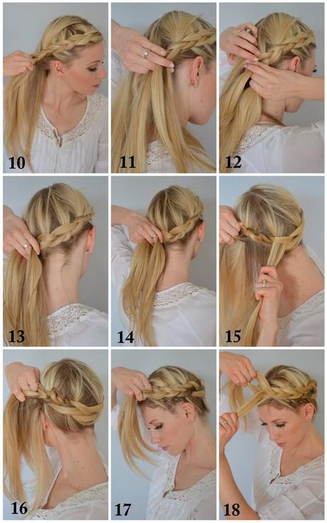 Прическа коса вокруг головы как сделать