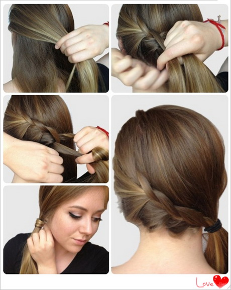 Hairstyles Ponytails Medium Hair