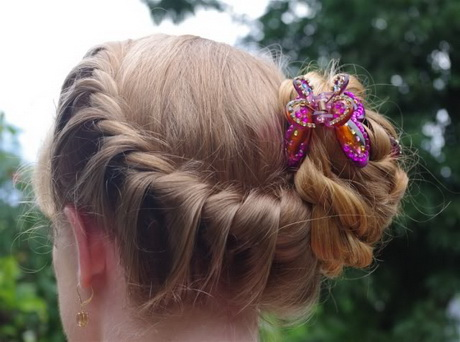 Wonderful rose bun hairstyle #hairstyles #hairstyle #hair #long #short ...