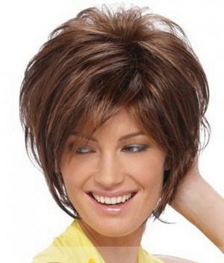 Short Hairstyles for Heavy Women Over 50