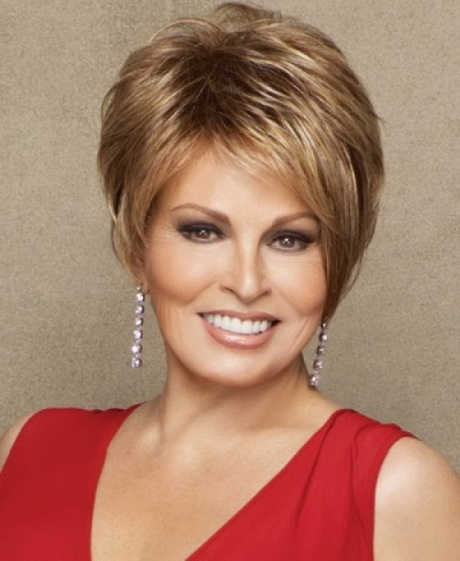 Hairstyles round face over 50