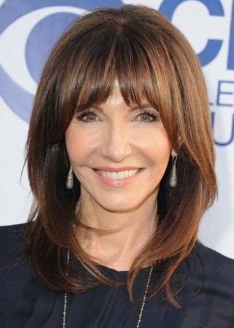 Hairstyles With Bangs For Women Over