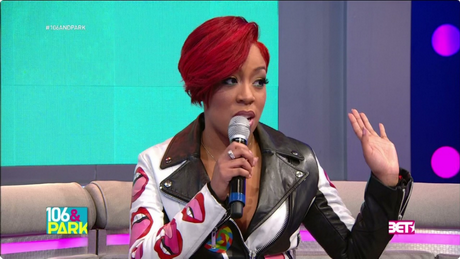 K Michelle Short Hairstyles Michelle Shows Off New Blonde Bob Haircut