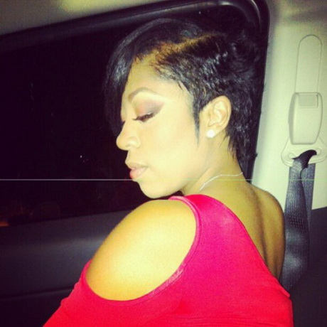 K Michelle Short Hairstyles michelle on pinterest k michelle hair keyshia cole and amber