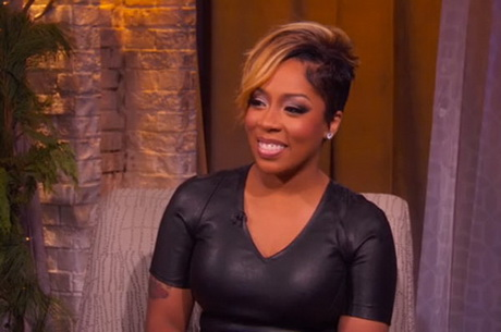 k michelle short hairstyles