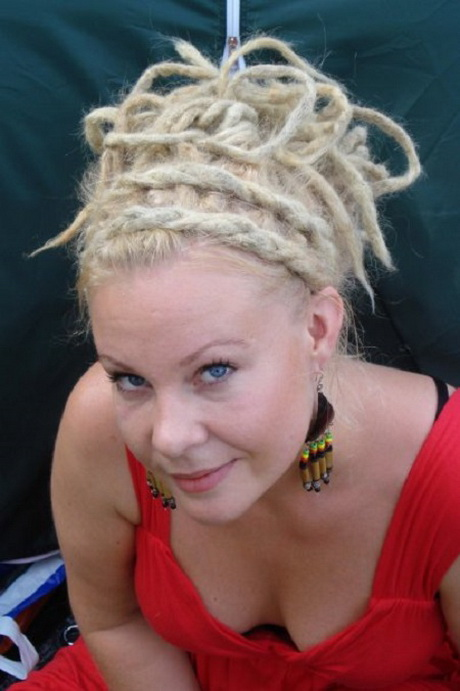 Dread hairstyles for women may include tight spiral hairstyles ...