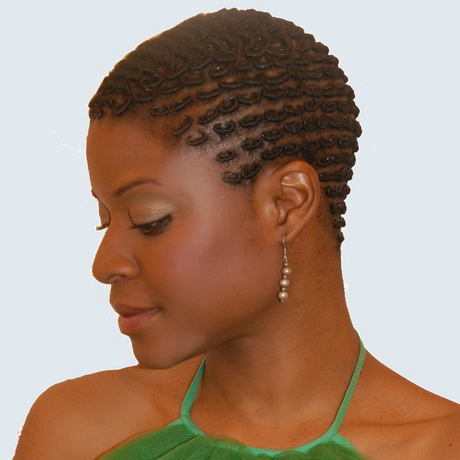 Short natural hairstyles 4c