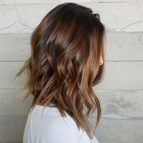 Hairstyles 2017 Medium : ... Lob Hair Styles  Wavy Shoulder Length Hair for Women and Girls 2017