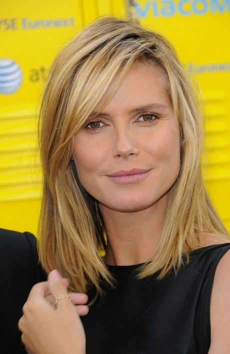 Medium Layered Haircuts For Thick Hair 2017 : Medium length straight hairstyles for thick hair