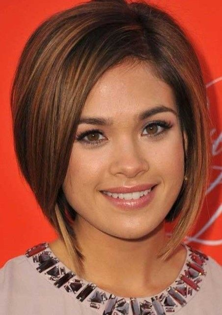 Hairstyles 2017 Short Round Face : Short haircuts 2017 for round faces  http://trend-hairstyles.ru