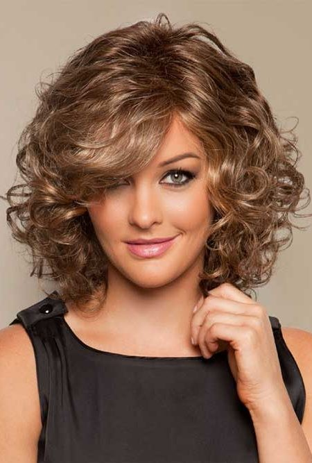 2017 hairstyles and color : curly bob hairstyle ideas trendy hairstyles 2017 for long