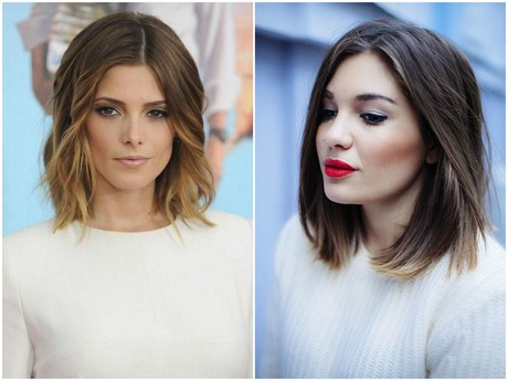 Hairstyles 2017 Ladies : Shoulder length haircuts for women