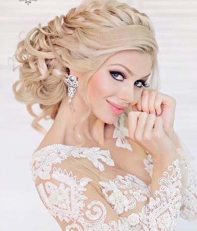 bridget bardot hairstyle : 400 ? 470 in bridals wedding elegant hairstyle 2016 2017 pics