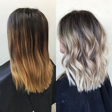 Hairstyles 2017 Female Black : ... Length Haircut  Women Medium Hairstyles 2017  Ombre Balayage