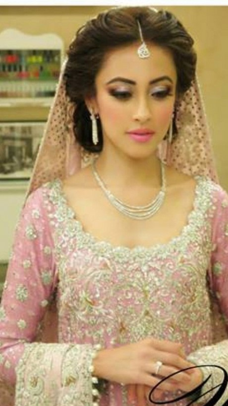 Latest Bridal Hairstyle Trends 2017 2017 For Pakistani Brides Latest