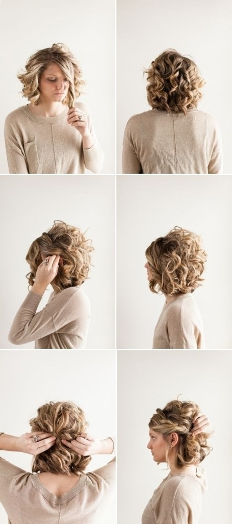 Easy Hairstyles For Medium Hair Formal : Latest prom hairstyles