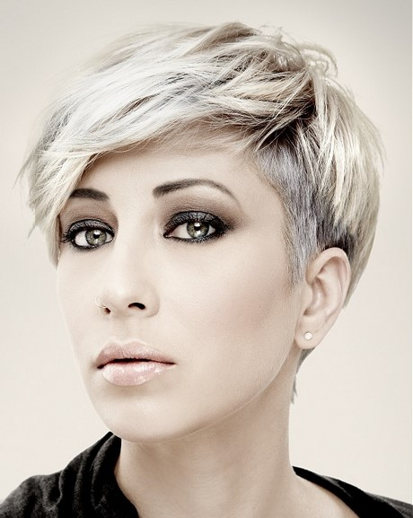 Latest short hairstyles for women 2017 - photo #22