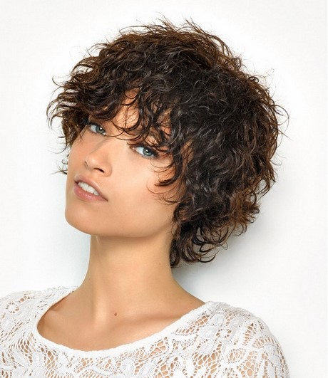 Short Haircuts For Curly Hair 2017