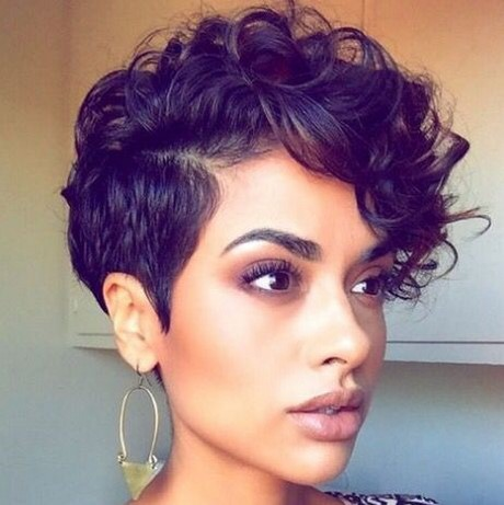 Short Naturally Curly Hairstyles 2017