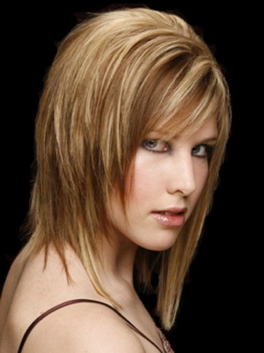 Hairstyles 2017 Medium Length Straight : ... shoulder length haircuts shoulder layered haircuts 2017 shoulder