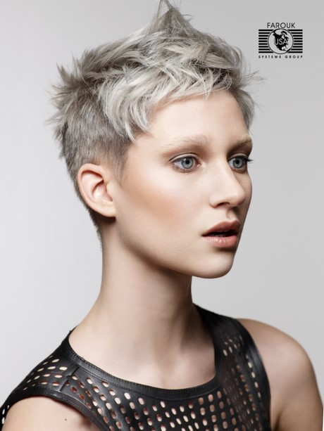 Popular Short Hairstyles Pictures For Fine Hair Hairstyle 2017