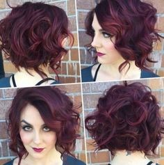 Hairstyles 2017 Color : Very short curly hairstyles 2017