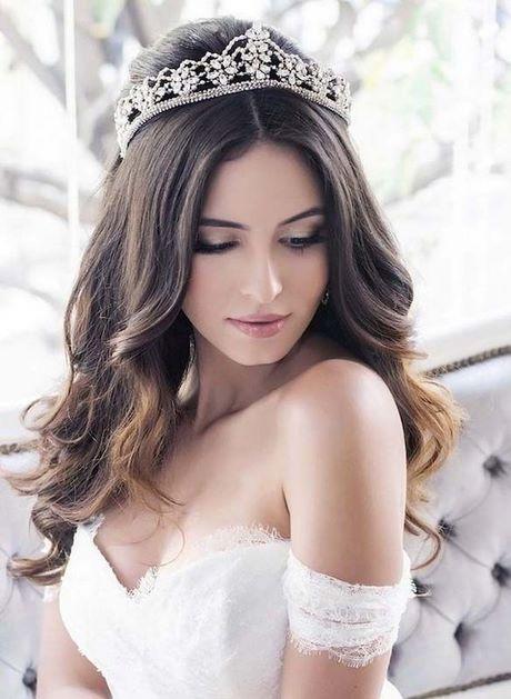 Bridal hairstyle 2019 - photo#34