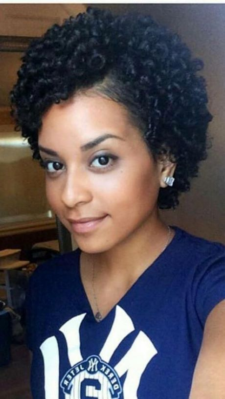 black short curly hairstyles 2020
