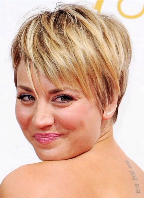2016 short hairstyles for round faces