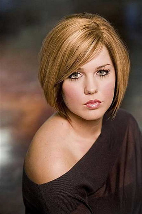 2016 short hairstyles for round faces - Bob Hairstyles For Fine Hair