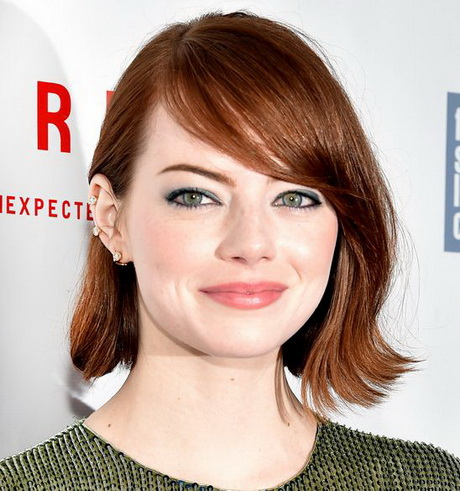 2016 Celebrity Lob Hairstyles Best Hairstyles Collections