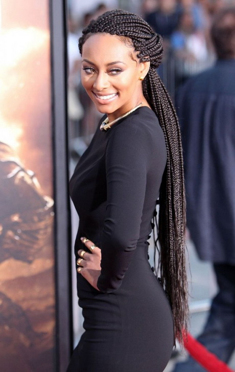 Black braids hairstyles 2016