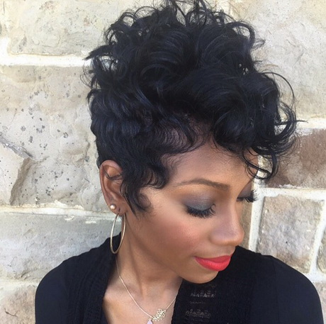 short haircuts for black women with round faces the best short