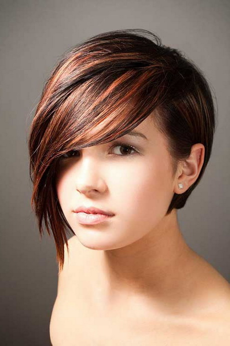 Hair styles to match facial features