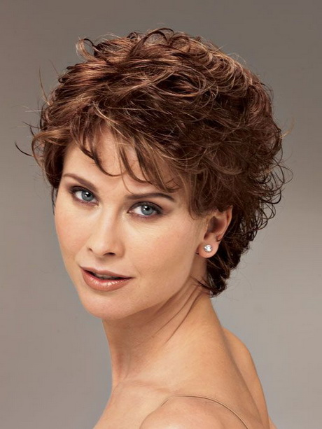 Short Hair Styles For Curly Hair Women Over 40 Hairstyles Short Curly