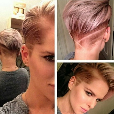 Trendy Shaved Haircuts for Short Hair – Short Straight Hairstyles ...