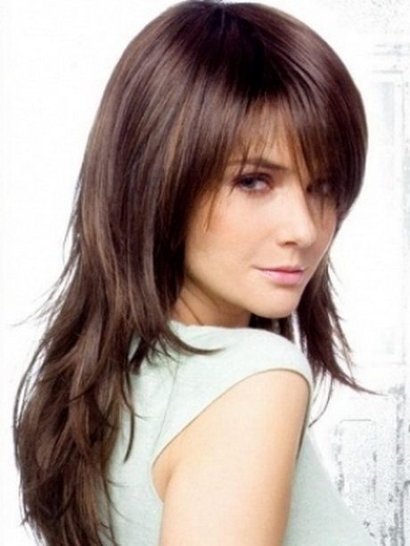Fantastic Long Layered With Bangs Haircuts