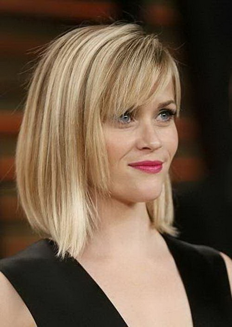 these Abbreviate Beeline Hairstyles with Bangs and get a new appealing ...