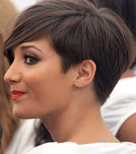 Latest short hairstyle for women 2016