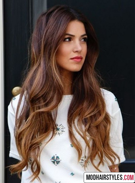 Haircut ideas for long brown hair