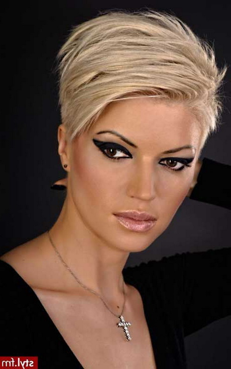 Popular Hairstyles : Hairstyles Short Hairstyles 2014 Most Popular Blonde Short Haircuts ...