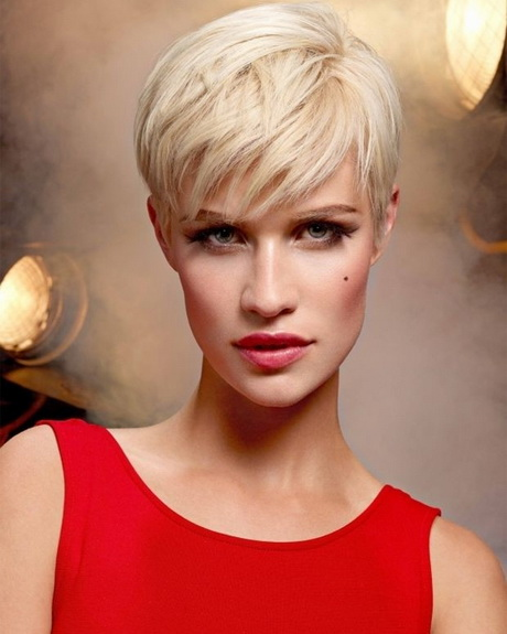 Partially Shaved Short Hairstyles For Women together with Shaggy Pixie ...