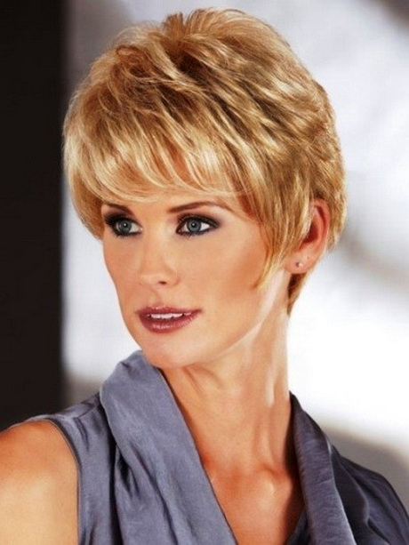 Ledis Hair Cut : women over 50 with fine hair fave hairstyles short haircuts for women ...
